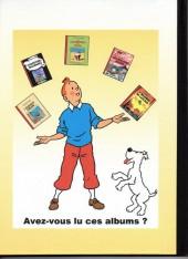 Verso de Tintin - Pastiches, parodies & pirates - L'inconnu de Lascaux