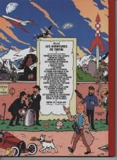 Verso de Tintin - Pastiches, parodies & pirates - Les sarcophages du pharaon