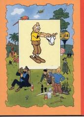 Verso de Tintin - Pastiches, parodies & pirates - L'oreille cassée - Les aventures du type qui se fourre toujours dans des situations pas possibles