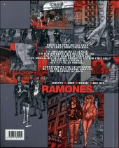 Verso de One, two, three, four, Ramones!