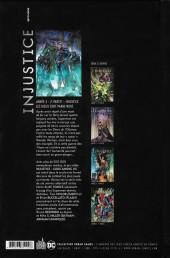 Verso de Injustice - Les Dieux sont parmi nous -8- Année 4 - 2e partie