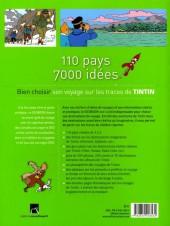 Verso de Tintin - Divers - Géo Book - 110 pays, 7000 idées - bien choisir son voyage sur les traces de tintin