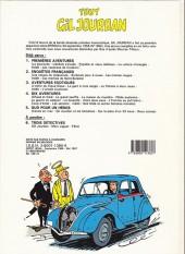 Verso de Gil Jourdan (Tout) -4a1987- Dix aventures