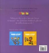 Verso de Mini-Loup (Les aventures de) -3- Mini-Loup fait les 400 coups