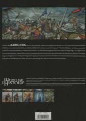 Verso de Ils ont fait l'Histoire -14FL- Jeannne d'Arc