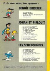 Verso de Johan et Pirlouit -9b1971- La flûte à six schtroumpfs