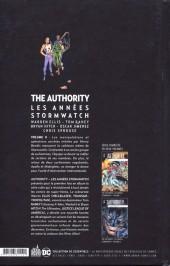 Verso de Authority (The) : Les années Stormwatch -2- Volume 2
