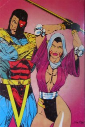 Verso de Planète Comics (1re série) -Rec01- Album N°1 (du n°1 au n°3)