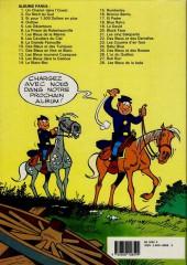 Verso de Les tuniques Bleues -2d89- Du nord au sud