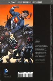 Verso de DC Comics - Le Meilleur des Super-Héros -44- Superman - Brainiac