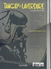 Verso de Tanguy et Laverdure - La Collection (Hachette) -15- Les vampires attaquent la nuit