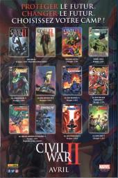Verso de All-New Avengers -HS03- Civil War II