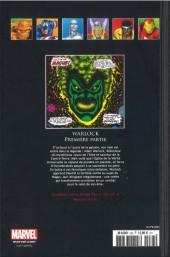Verso de Marvel Comics - La collection (Hachette) -83XXXI- Warlock - Première Partie