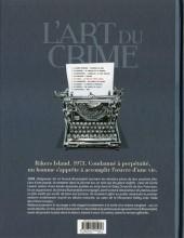 Verso de L'art du crime -5- Le rêve de Curtis Lowell