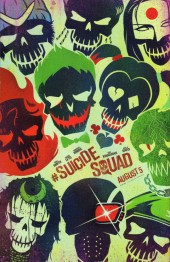 Verso de Harley Quinn and the Suicide Squad (2016) -ES- April Fool's Special: Evil Anonymous