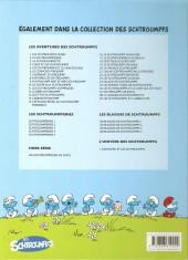 Verso de Les schtroumpfs -22c2011- Le schtroumpf reporter