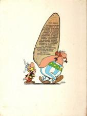 Verso de Astérix -3b74- Astérix et les Goths