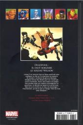 Verso de Marvel Comics - La collection (Hachette) -8467- Deadpool - Il Faut Soigner le Soldat Wilson