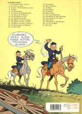 Verso de Les tuniques Bleues -24a1988- Baby blue
