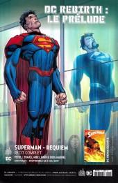 Verso de Justice League - Récit Complet (DC Presse) -1- Le Retour des Titans