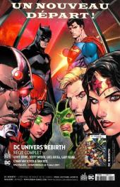 Verso de Justice League - Récit Complet (DC Presse) -HS1- DC Univers Rebirth