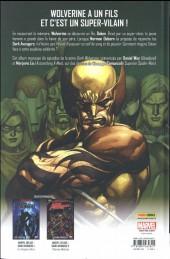 Verso de Dark Wolverine -1- Le prince