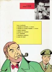 Verso de Blake e Mortimer (Aventuras de) (en portugais) -10- O caso do colar