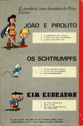 Verso de Schtrumps (en portugais) -1- Os Schtrumps negros