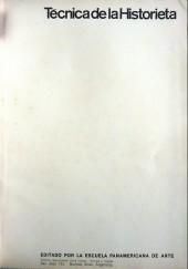 Verso de (AUT) Pratt, Hugo (en espagnol) - Tecnica de la historieta