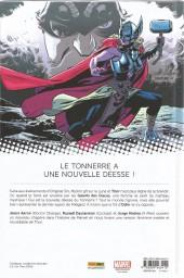 Verso de Mighty Thor -1- La Déesse du Tonerre