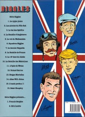 Verso de Biggles présente... -2- 18 illustrations aéronautiques