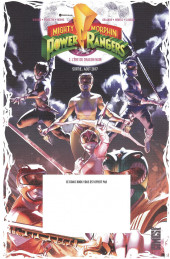 Verso de Free Comic Book Day 2017 (France) - Mighty Morphin Power Rangers: Pink