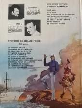 Verso de Bernard Prince -7a1978- La fournaise des damnés
