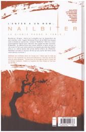 Verso de Nailbiter -3- L'Odeur du sang