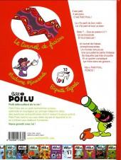 Verso de Petit Poilu -20- Madame Minuscule