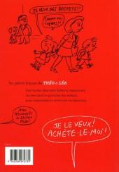 Verso de Les petits tracas de Théo & Léa -7- Je le veux ! achète-le-moi !