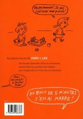 Verso de Les petits tracas de Théo & Léa -6- Au bout de 5 minutes j'en ai marre !