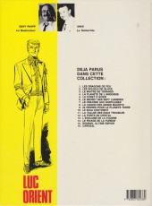 Verso de Luc Orient -3c84- Le maître de Terango