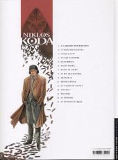 Verso de Niklos Koda -15- Le dernier masque
