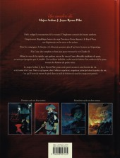 Verso de Le sang des Lâches -4- Une enquête en enfer