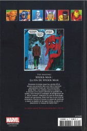 Verso de Marvel Comics - La collection (Hachette) -85VIII- Amazing Spider-Man - La Fin de Spider-Man