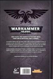 Verso de Warhammer 40,000 (2e Série) -1- Volonté d'acier