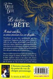 Verso de La belle et la Bête (Disney manga) - Le destin de la Bête