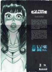 Verso de La peur géante -INT- L'intégrale