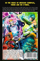 Verso de X-Men: Divided We Stand (2008) -INT- Divide We Stand
