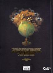 Verso de Psycho-Investigateur / Simon Radius Psycho-Investigateur -2- L'Héritage de l'Homme-Siècle