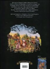 Verso de Les champions d'Albion -2- Les maudits de roncevaux