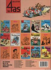 Verso de Les 4 as -18b1985- Les 4 as et la licorne