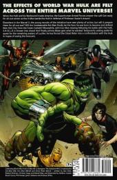 Verso de World War Hulk: X-Men (2007) -INT- World War Hulk: X-Men