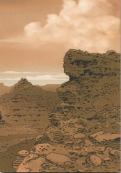 Verso de Les ombres de la Sierra Madre -HS- West Book